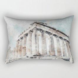 Parthenon Rectangular Pillow