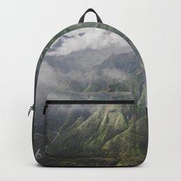 Mountain on the Green - Kauai, Hawaii Backpack