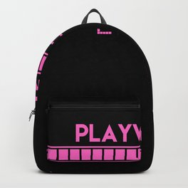 Playwirght Loading Backpack