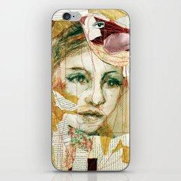 red bird iPhone Skin