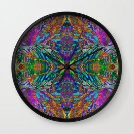 Buddha 5 geometry III Wall Clock