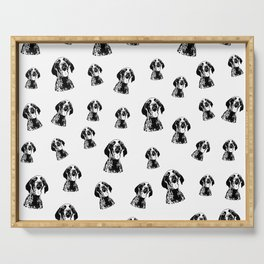 GIFTS FOR THE GERMAN POINTER SHORTHAIRED DOG LOVER,GIFTS FROM MONOFACES FOR ALL IN 2021 Serving Tray
