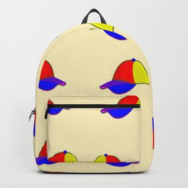 Colorful caps pattern Backpack