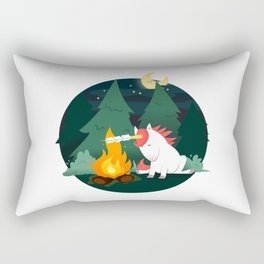 Forest of the Unicorn Rectangular Pillow