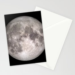 Surface of the Moon - Lunar Landscape Stationery Cards