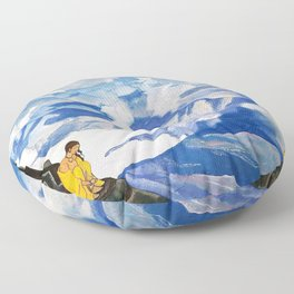 Nicholas Roerich - Drops Of Life - Digital Remastered Edition Floor Pillow
