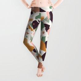Terrazzo Print Leggings