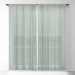 White Sage Sheer Curtain