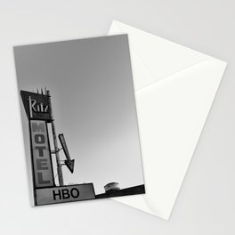 Motel Stationery Cards