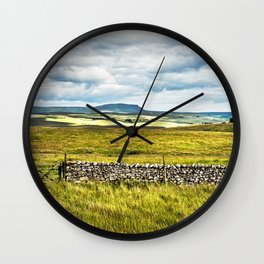 A View From Ribblehead Wall Clock