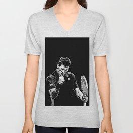 Djokovic Fist Pump Unisex V-Neck
