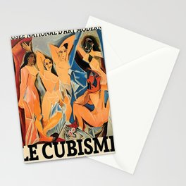 Picasso Le Cubisme Poster, HIGH QUALITY PRINT, Pablo Picasso, Les Demoiselles d'Avignon, Museum Of Modern Art, Home Decor Stationery Cards
