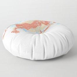 American Bull Index Capitalism Floor Pillow