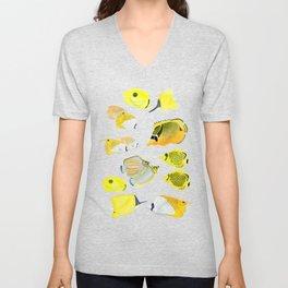 Butterflyfish Unisex V-Neck