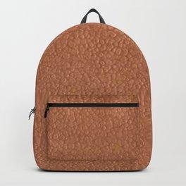hammered copper Backpack