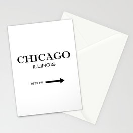 Chicago - Illinois Stationery Cards