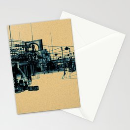 RF295 Town - X48 Stationery Cards