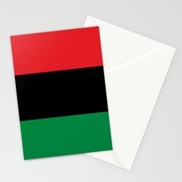 Pan African UNIA Flag Stationery Cards