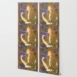 Alfons Mucha - Job 1896 - Digital Remastered Edition Wallpaper