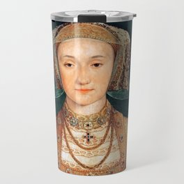 "Hans Holbein the Younger ""Anne of Cleves (1515-1557), fourth wife of King Henry VIII"" Travel Mug"