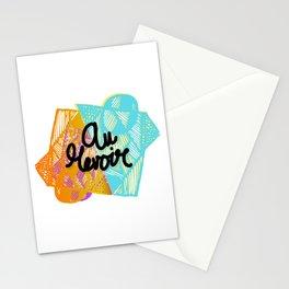 Boho Bye Stationery Cards