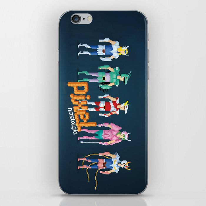 Saint Seiya - Pixel Nostalgia iPhone Skin