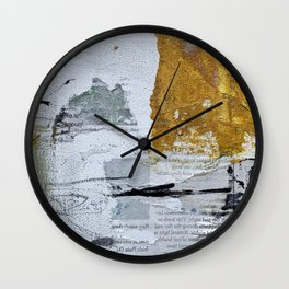 Old News Wall Clock