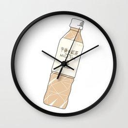 Milk Tea Soft Drink Wall Clock