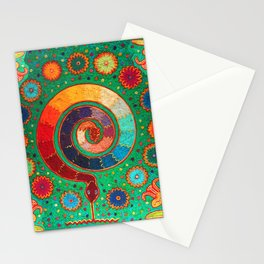 Peyote Serpent Ritual Stationery Cards