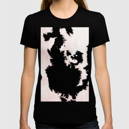 black, white and pink abstract 25 T-shirt