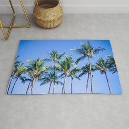 Palms in Living Harmony Rug