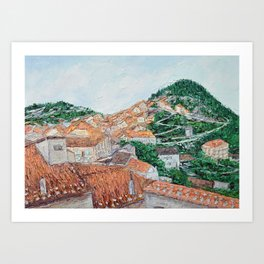 Viggiano, Italy Art Print