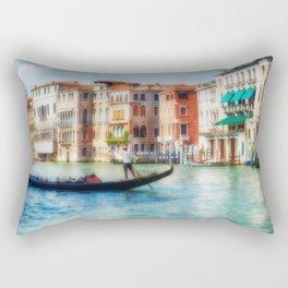 Grand Canal Gondola Rectangular Pillow