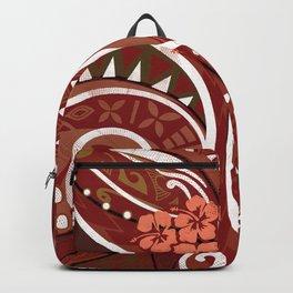 Samoan - Hawaiian - Polynesian Tribal Village Threads Backpack