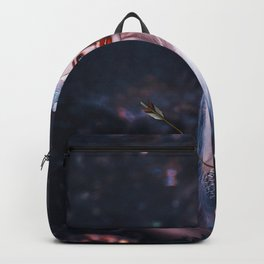 The Heart Is A Lonely Hunter; Arrows and Hearts magical realism female form portrait Backpack