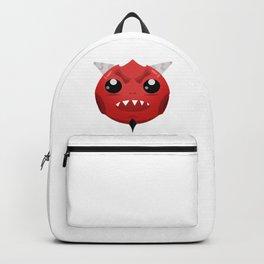 Cute devil dude Backpack