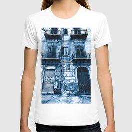 Classic Blue Abandoned Sound T-shirt