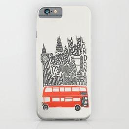 London Cityscape iPhone Case
