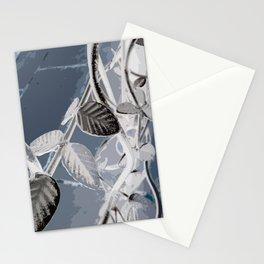 Leaf Of Metal Stationery Cards