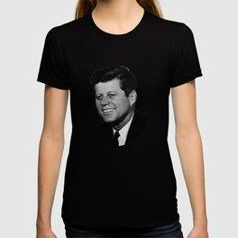 President John F. Kennedy Portrait T-shirt