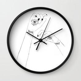 True Story - Daughter of smoke and bone.Laini Taylor Wall Clock