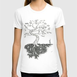His Sister Buried All his Bones under the Juniper Tree T-shirt