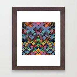 Mindcraft Framed Art Print