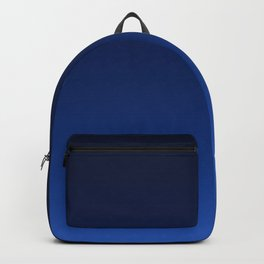 Gradient 12 Nightfall night sky twilight blue and black Backpack
