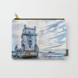 Belém Tower, Lisbon (Portugal) Carry-All Pouch