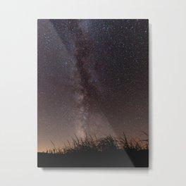 Milky Way, Sleeping Bear Dunes National Lakeshore, Michigan Metal Print
