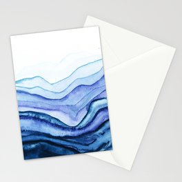 Washed Away Watercolor Stationery Cards