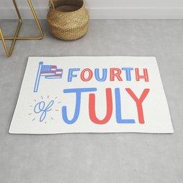 Fourth of July!  Rug