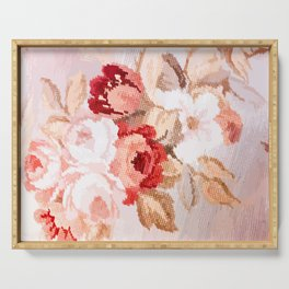 Vintage roses Serving Tray
