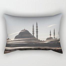 The Blue Mosque  Rectangular Pillow